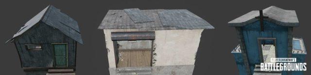 PUBG - In diesen Häusern kannst du die Flare Gun finden..